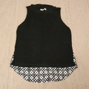 Loft Women's Sleeveless Sweater - Size L